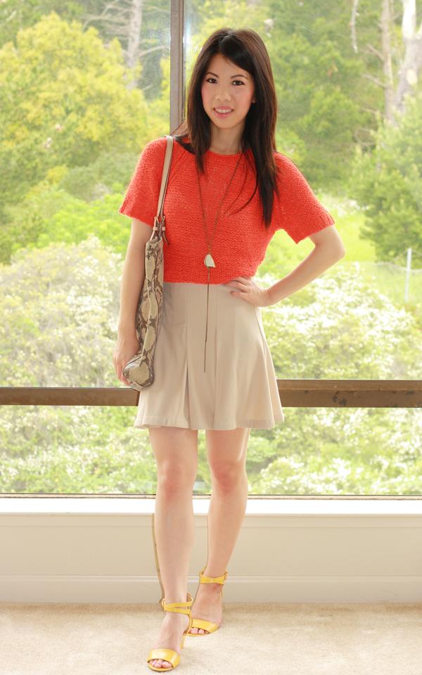 All About Fashion Stuff: Citrus Colors + Ann Taylor F&F Picks