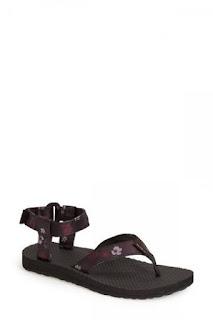 Teva 'Original' Floral Sport Sandal (Women)