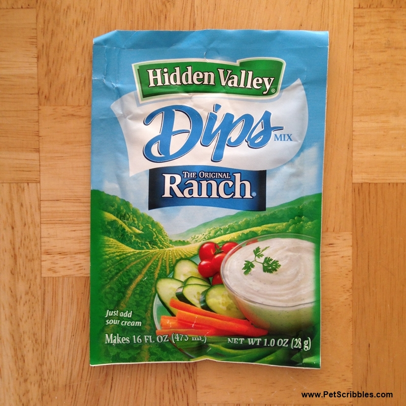 Hidden Valley Ranch Dip packet