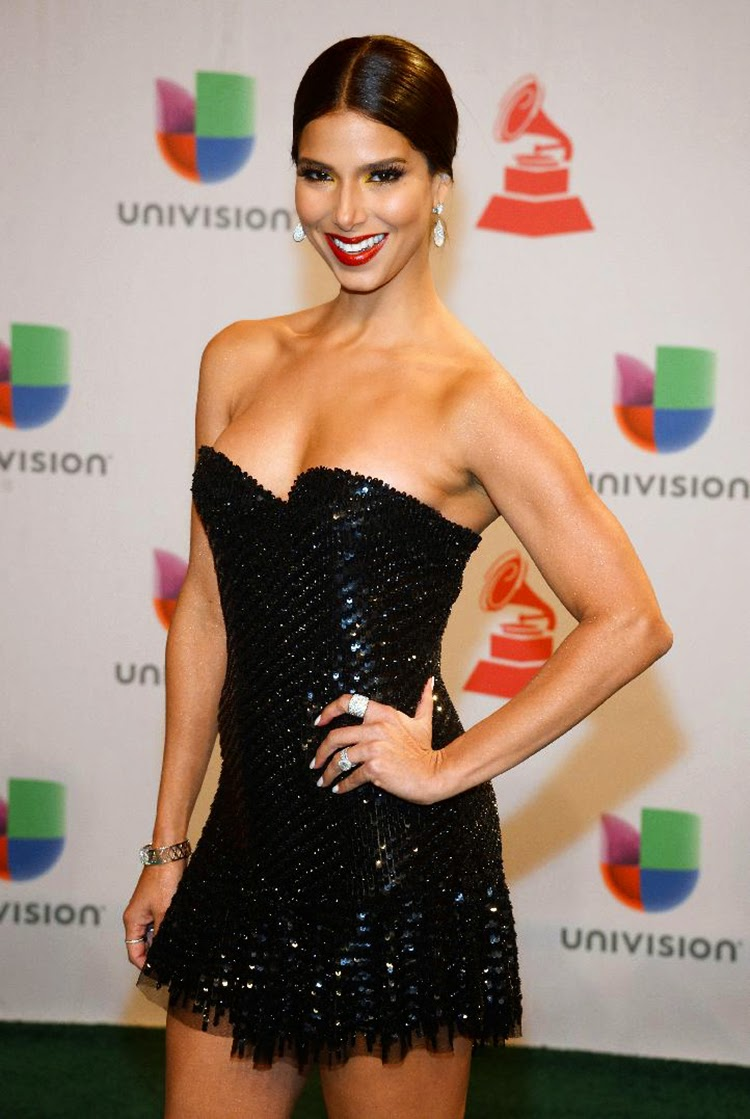 Roselyn Sanchez at 2014 Latin Grammy Awards Red Carpet Arrivals