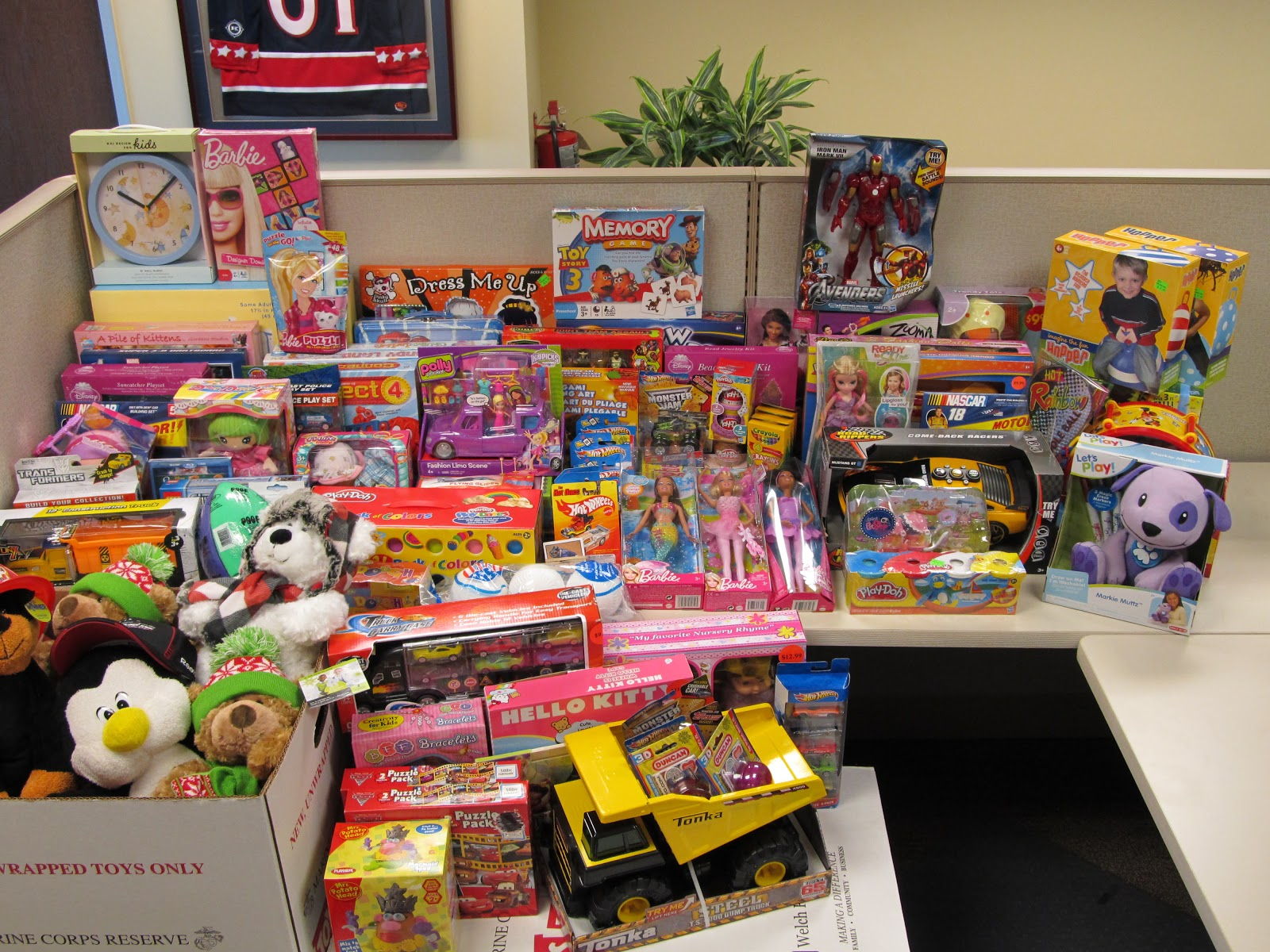 Toys For Tots Collection : Game plan december