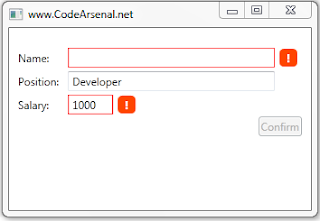 WPF TextBox Validation with IDataErrorInfo