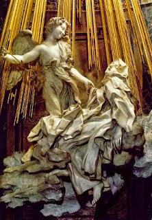 Barroco italiano, mística española, Santa Teresa