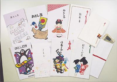 японские конверты для денег