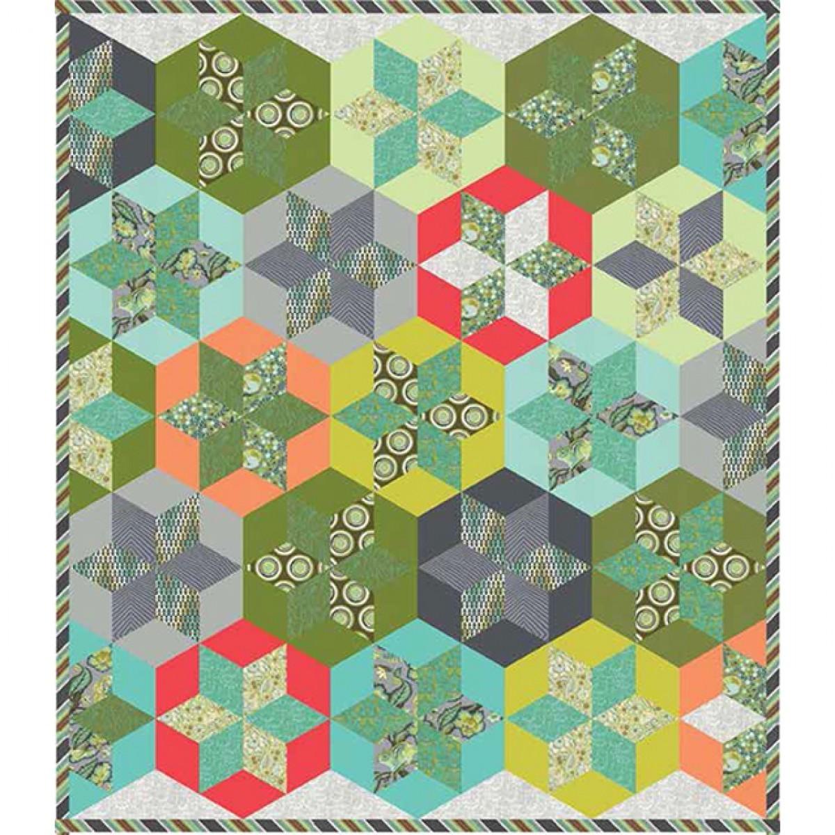 Free pattern!  Hexy stars