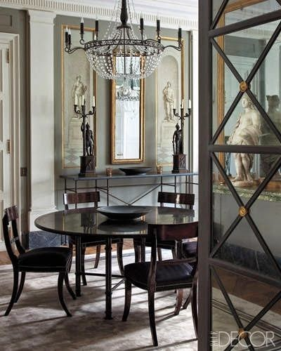 traditional formal dining room elle decor