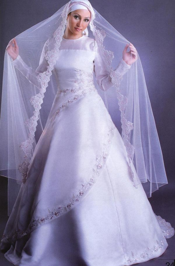 best wedding dress style: 2011 Hijab Wedding Gown