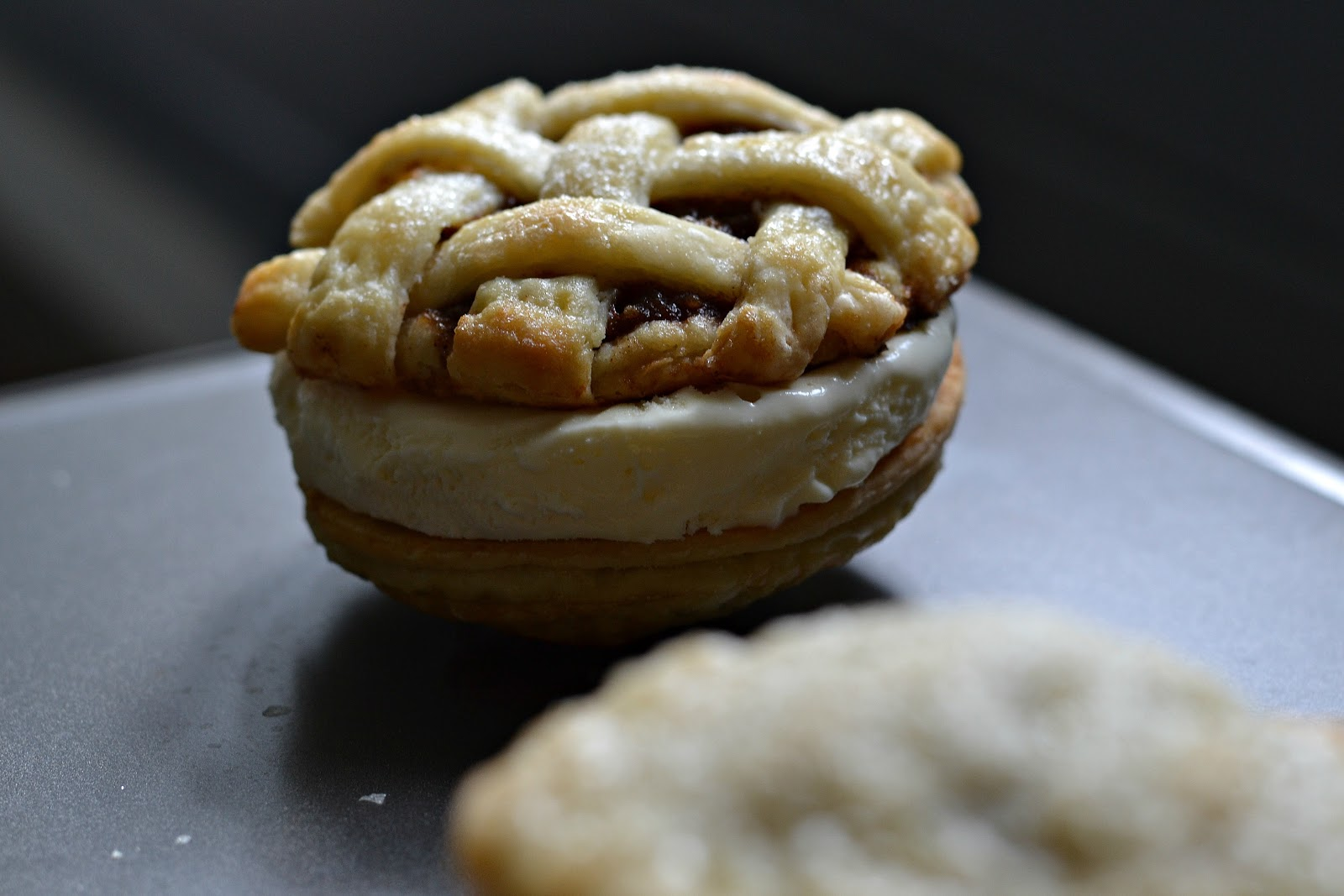 Apple Pie Ice Cream Sandwiches - Baked New England
