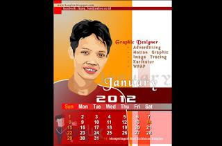 kalender kartun