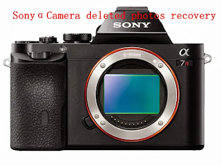 sony alpha camera deleted photos recovery
