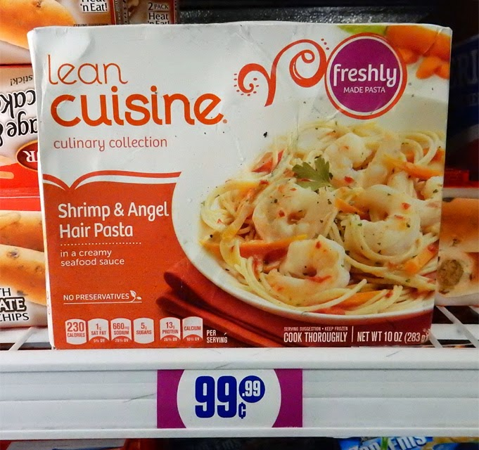 The 99 Cent Chef Shrimp Angel Hair Pasta Deal Of The Day