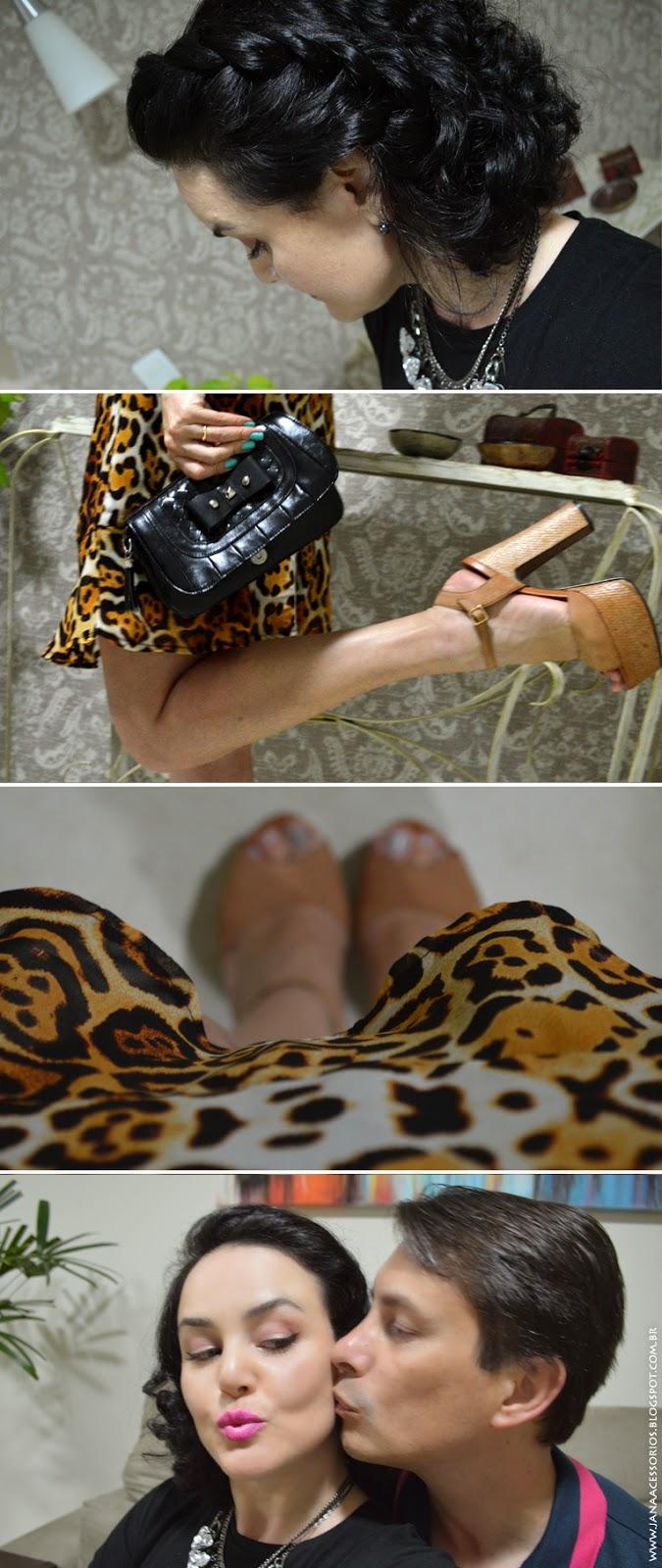 blog de acessórios, blogueira, joinville, jana acessórios, oncinha, look, mix de colaresblogger, on