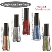 No encontré las imágenes de Argentina de esta colección, se supone que son . avon color trend
