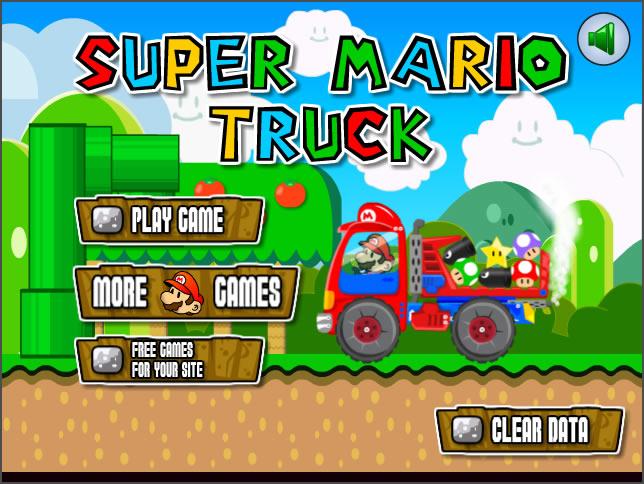 Truck Game : Super Mario Truck