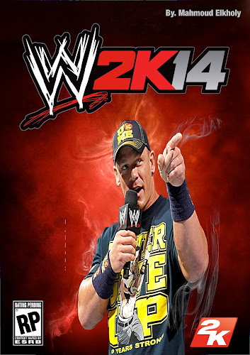 Image » WWE 2K14 Custom Poster Art (feat. John Cena) - Designed By Mahmoud Elkholy