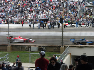 Fast cars at the Firestone Freedom 100