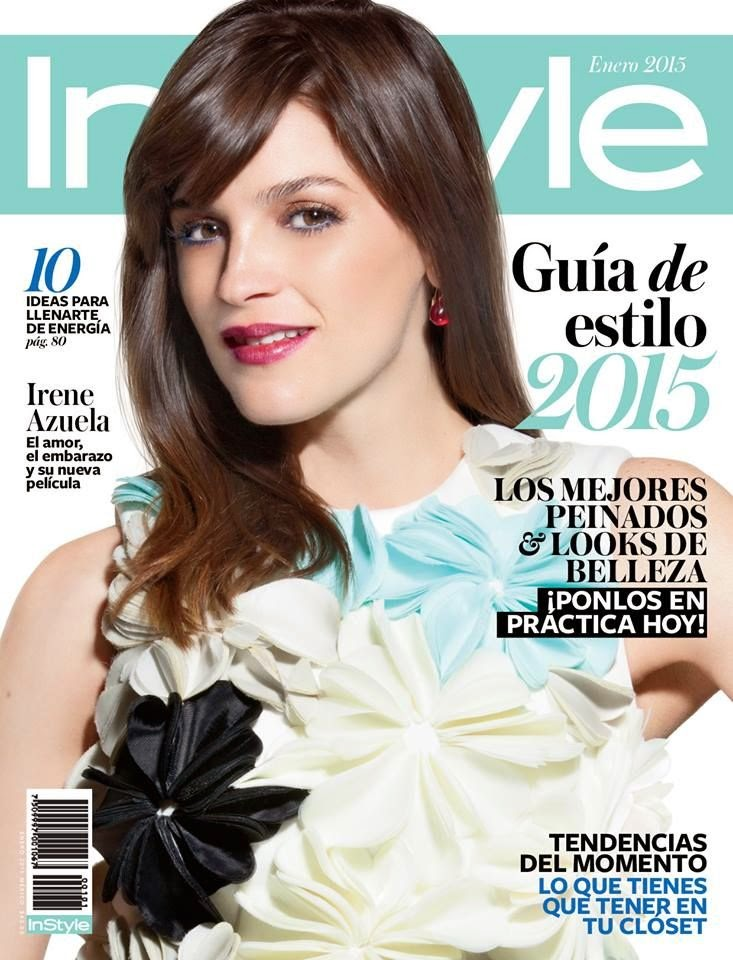 Irene Azuela - InStyle, Mexico, January 2015
