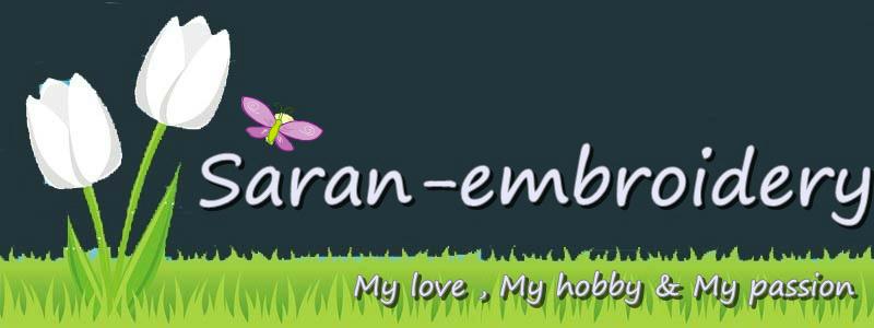 SARAN-EMBROIDERY