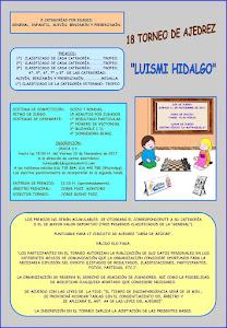 XXVIII Torneo de Ajedrez Luismi Hidalgo