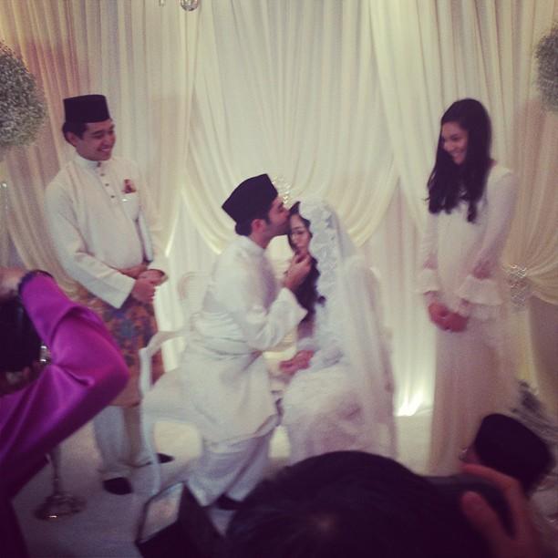 Gambar Majlis Pernikahan Anak Datuk K Dan Anak Datuk Seri Hishammuddin
