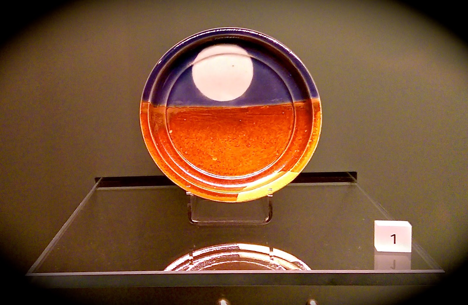 Porcelain dish, Arita, Japan, 1600-1699