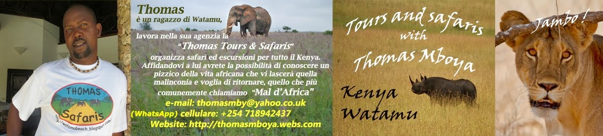 Thomas Tours & Safaris with Thomas Mboya