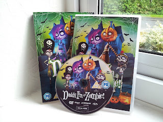 Daddy I'm a zombie!, Halloween DVD, children Halloween
