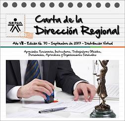 Carta de la Dirección Regional