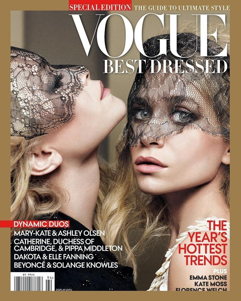So two of the hottest designers right now, Ashley and Mary Kate Olsen ...
