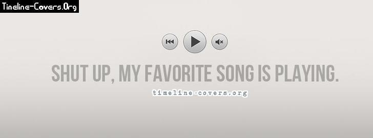 Favorite song playing fb cover