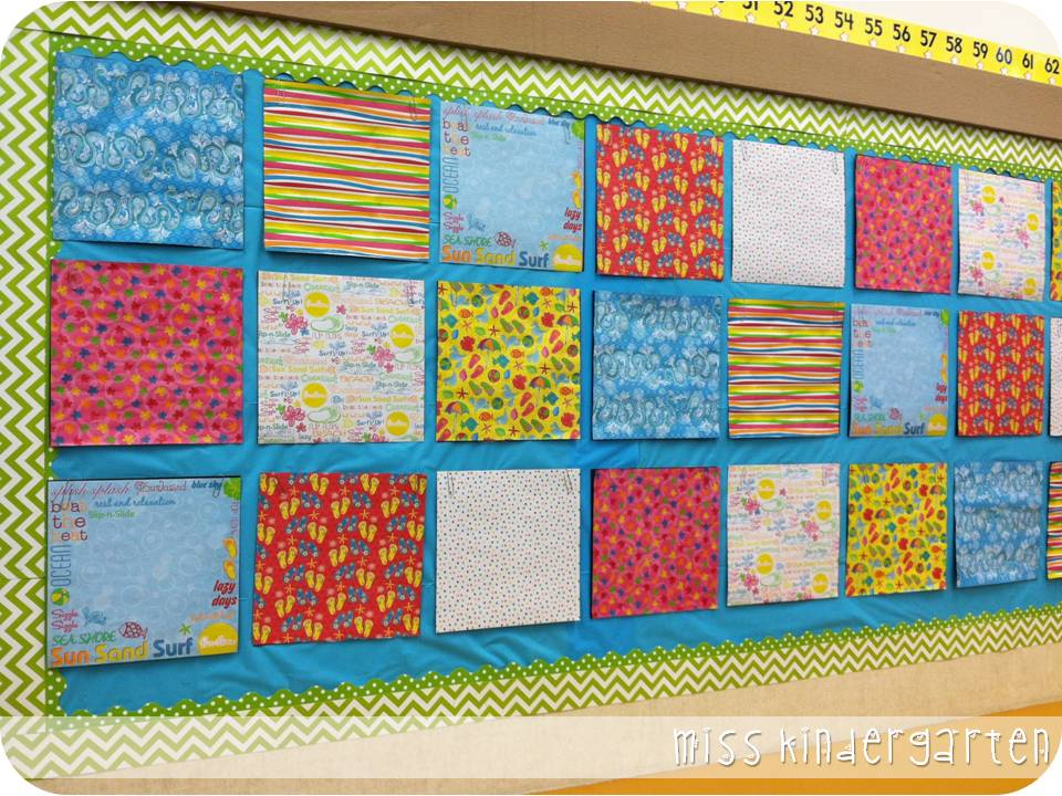 The first week of school and classroom pictures miss for I can bulletin board ideas