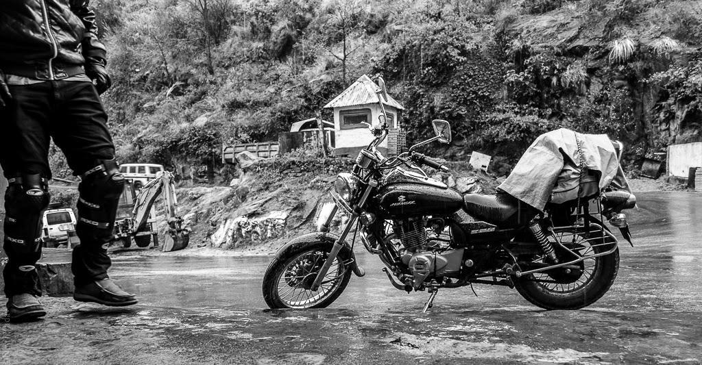 budgetyatri, solo bike trip to badrinath