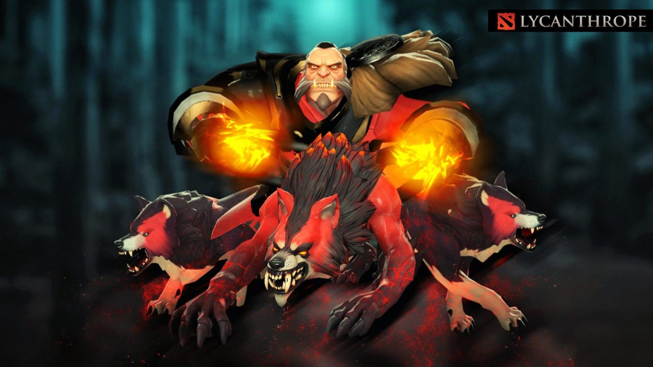 Lycanthrope Wolf The Banehallow Dota  Lycanthrope Build Guide