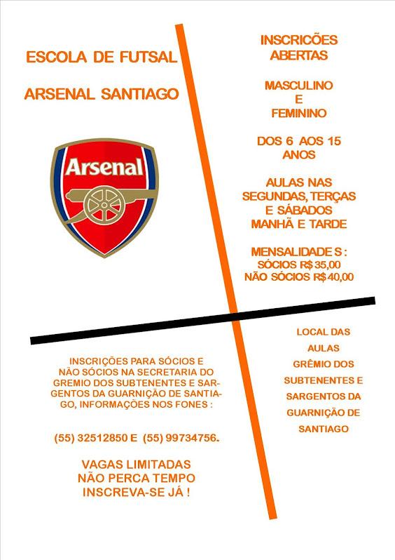 Escola de Futsal Arsenal em Santiago