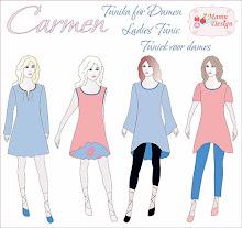 CARMEN Kleid Shirt Tunika