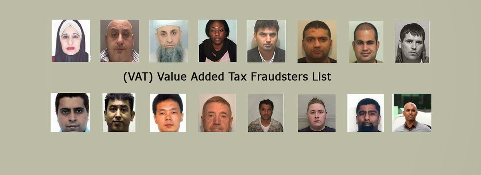 Vat Fraudsters List