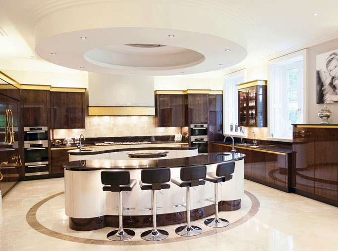 kitchen design think tank: celestial island cluster