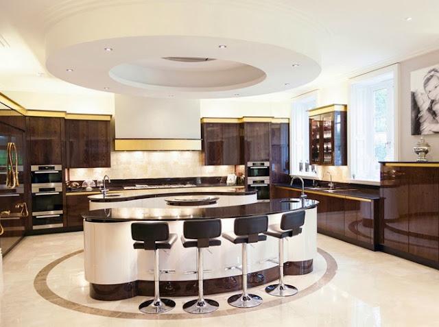 Kitchen Design Think Tank Celestial Island Cluster