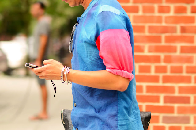 Fashion, Style, Design, Menswear, Shades, Colour, Street Style, Details, NYC, New York