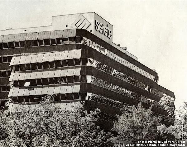 Paris 13eme - Bureaux Serete  Architecte: Jean de Brauer  Construction: 1970-1971