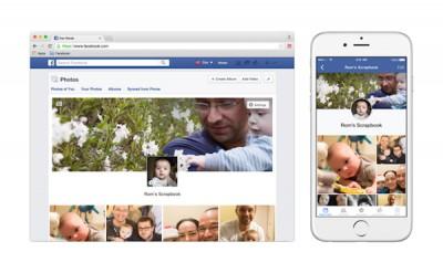 Facebook Rilis Fitur 'Scrapbook' Untuk Kontrol Foto Anak