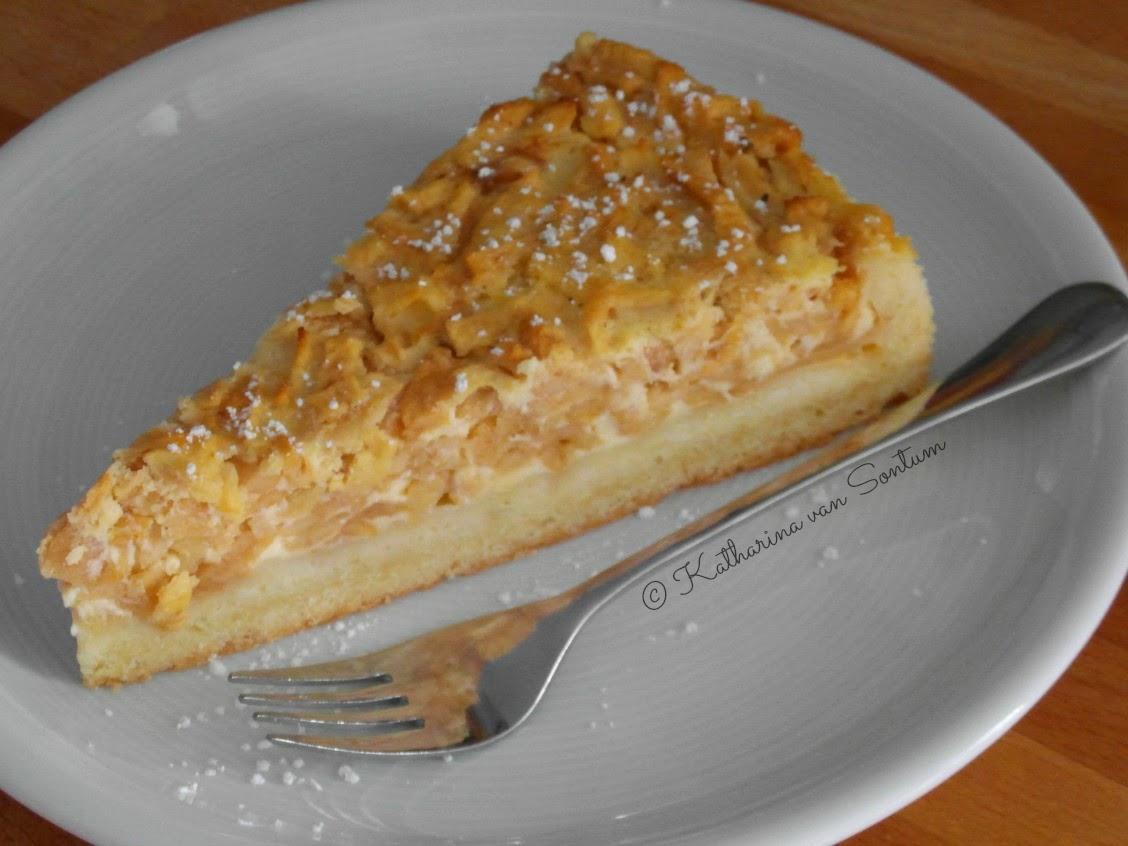 Kuchen apfel geraspelt