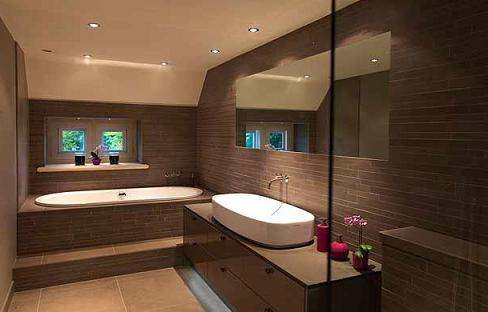 Luxury and elegant interior designs bathroom for Elegant bathroom designs pictures