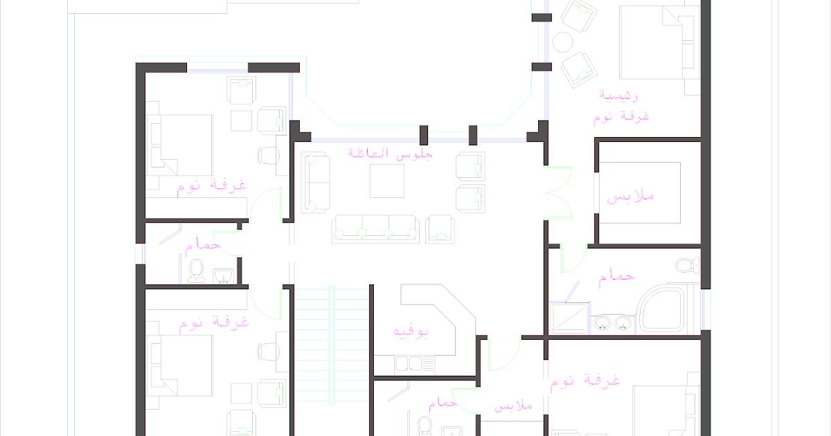3D Front Elevation.com: Oman Modern Villa Plan