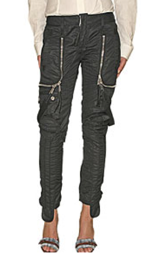 Description: Parachute pants were made of parachute material and you froze to death wearing them in the winter. They usually came in basic colors too. They .