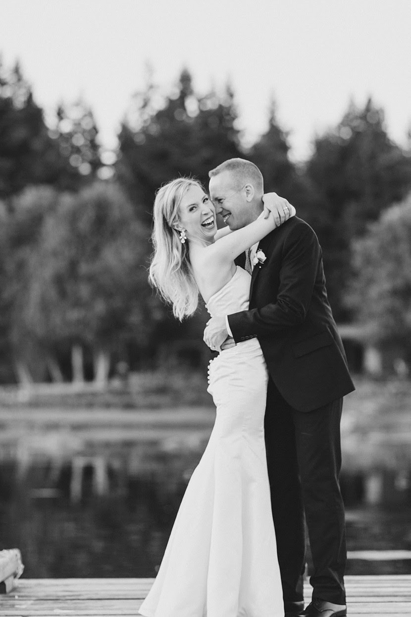 a groom who loves his bride photo
