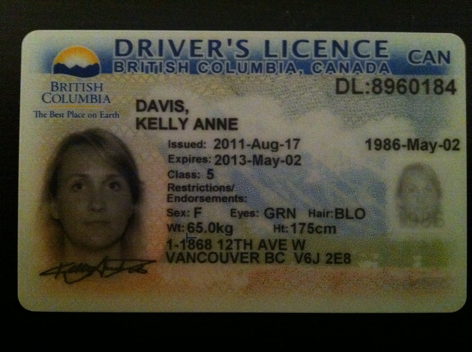 Driver License Endorsement and Restriction Codes