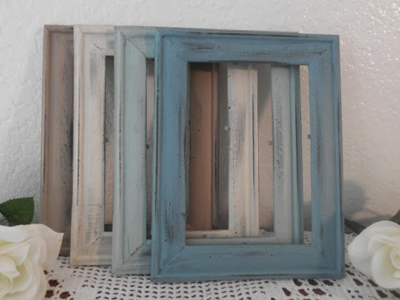 7 great diy rustic photo frames ideas diy fun world for Shabby chic frames diy