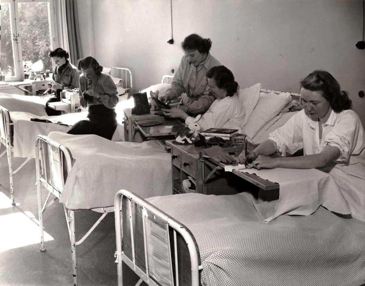 Arbetsterapi i sjukhussal, endometrios