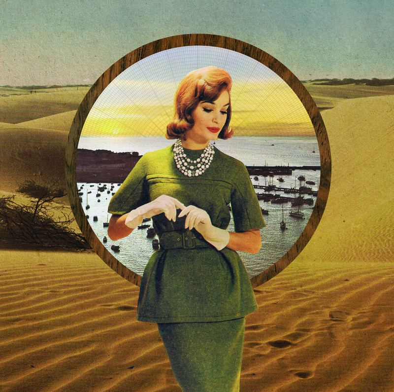 Doctor Ojiplático. Sammy Slabbinck. Vintage Collages